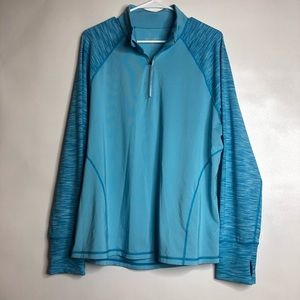 Ideology active wear pullover 2XL w/ thumb holes